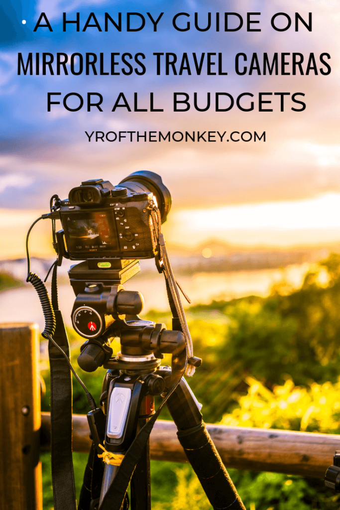 Looking to buy a mirrorless camera for travel photography? Then this post is just what you need. This is a guide to the best mirrorless travel cameras for all budgets and includes real user testimonies, with helpful features and prices outlined. Pin this to your travel gear or photography board now! #mirrorlesscameras #travel #travelphotography #camera #photography