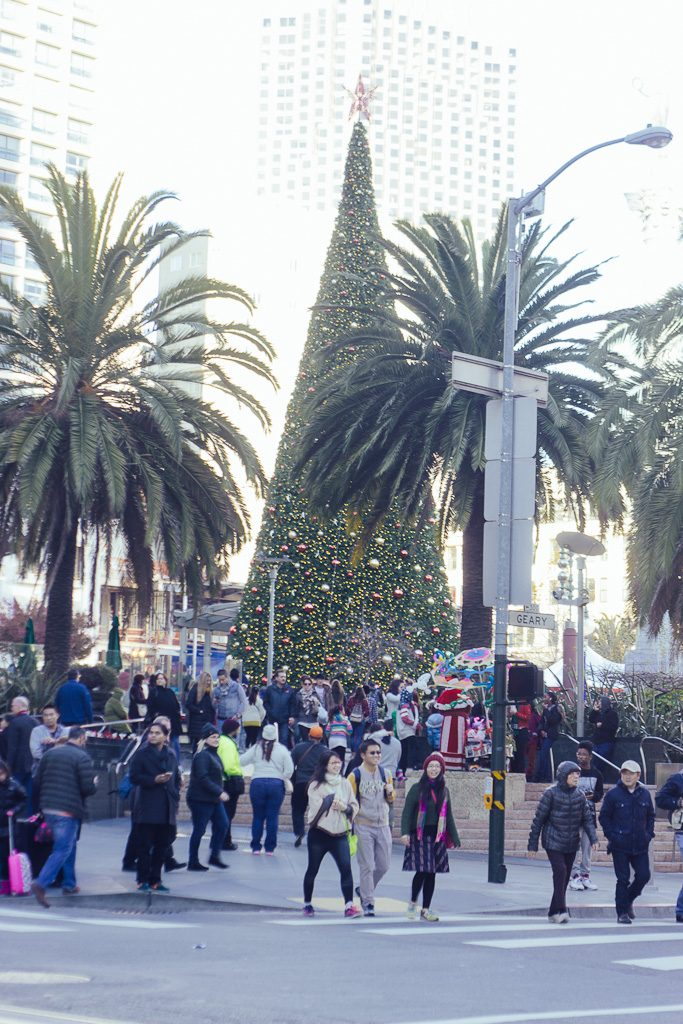 Union Square skating rink in San Francisco, what to do for christmas in San Francisco, Christmas events in San Francisco