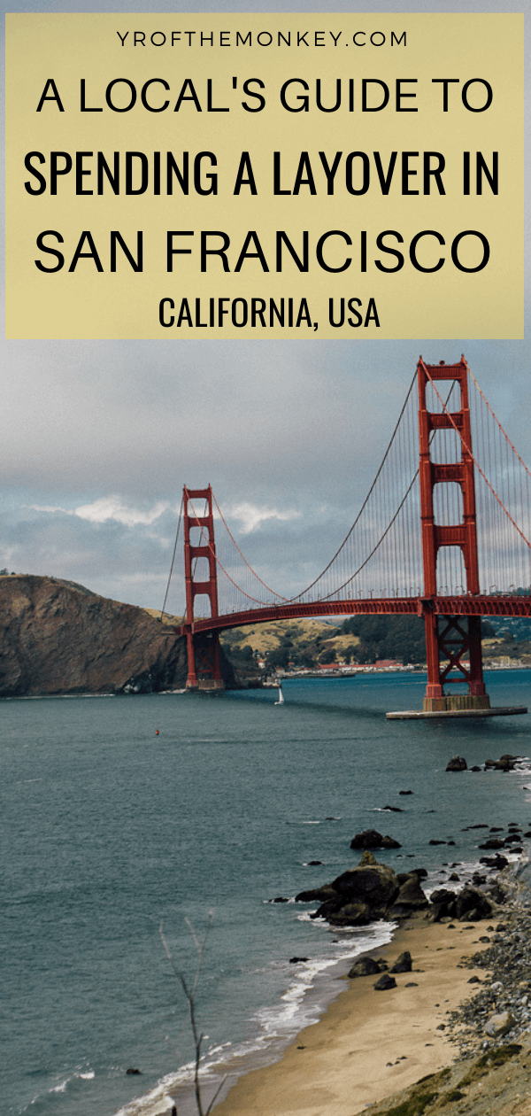 This is your local's guide to everything you need to know to plan the perfect layover in San Francisco. Includes different kinds of itineraries for things to do on a short or long San Francisco layover #sanfrancisco #california #USA #northamerica #layover #SFOairport #thingstodoinsanfrancisco