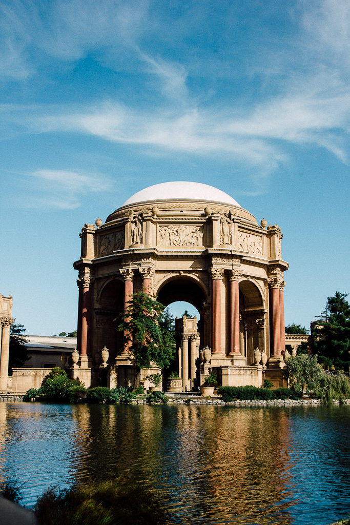 palace of fine arts should be on your San francisco itinerary on a layover
