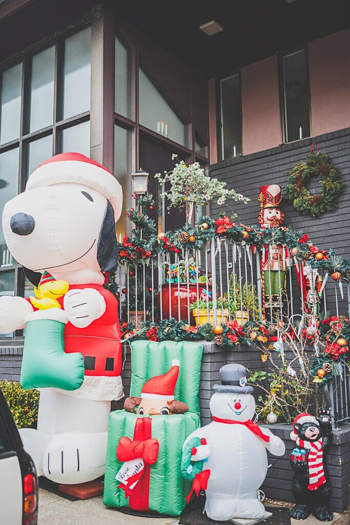 Christmas in San Francisco, holiday season in San Francisco