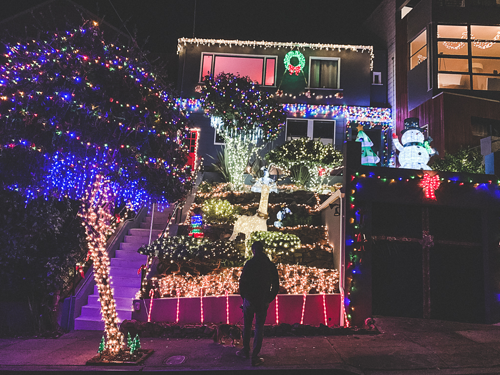 Christmas in San Francisco, Christmas lights