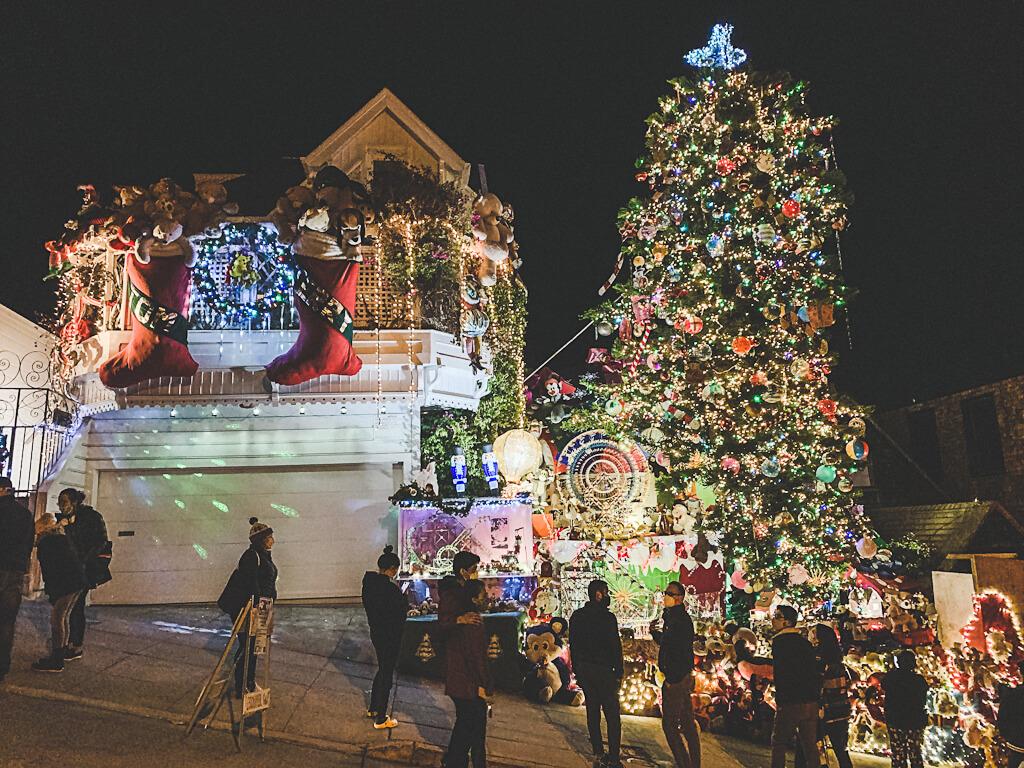 San Francisco Christmas Lights
