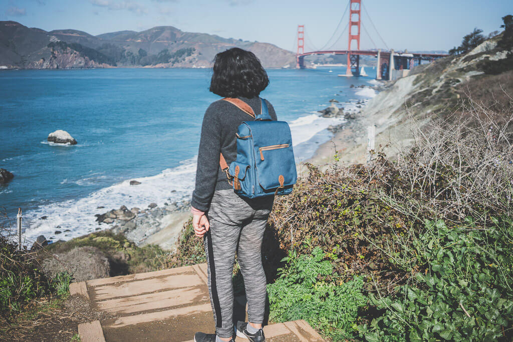 the best time to go to San Francisco for hiking is in spring