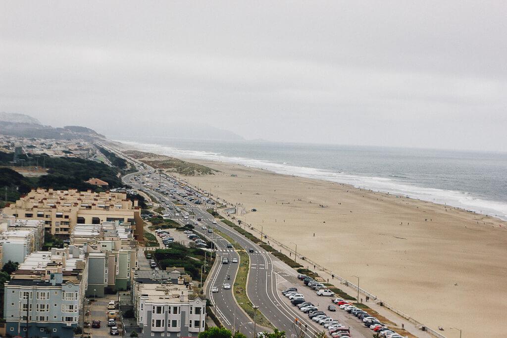 ocean beach is a dog beach in San Francisco