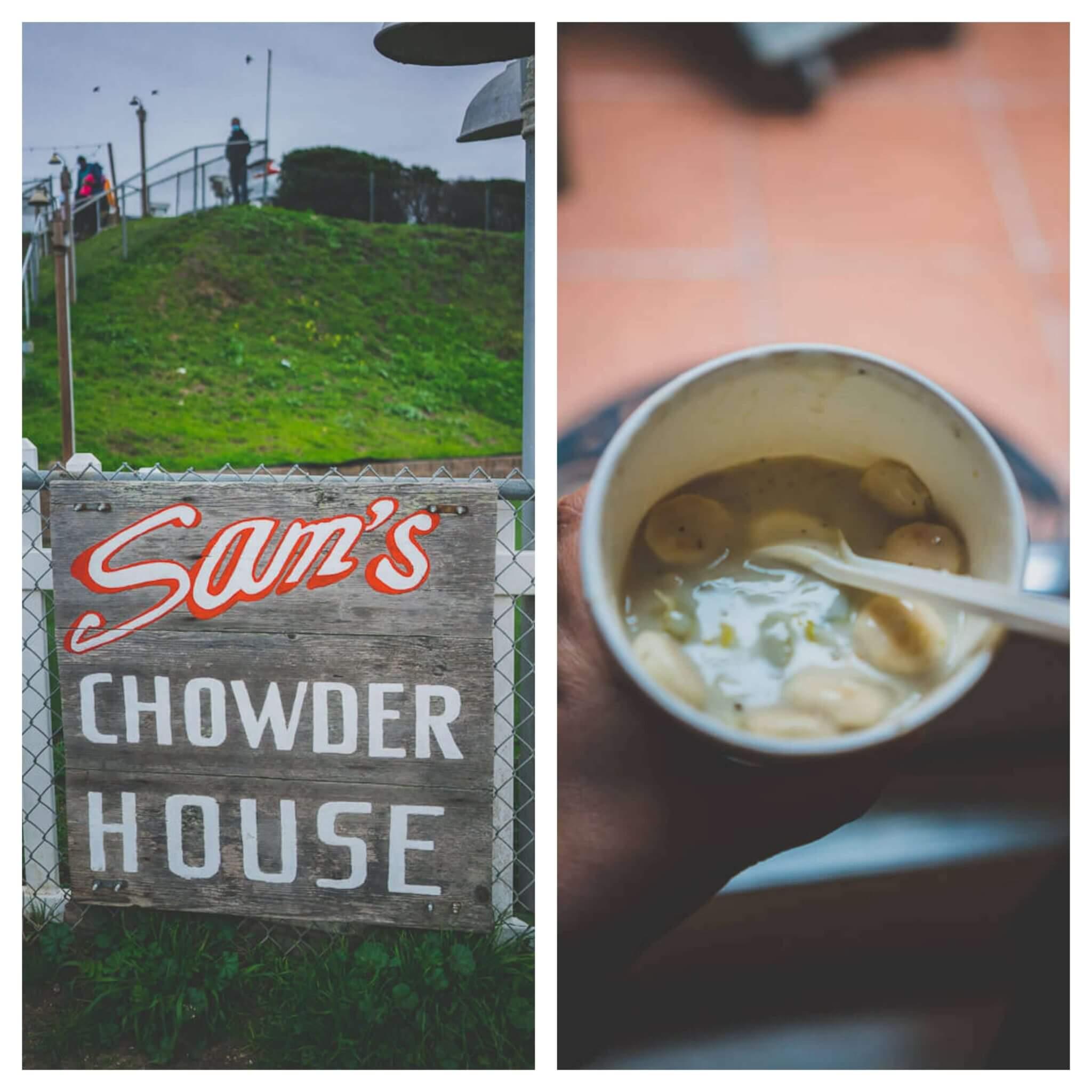 dog friendly restaurants in Half Moon Bay-Sam's Chowder House