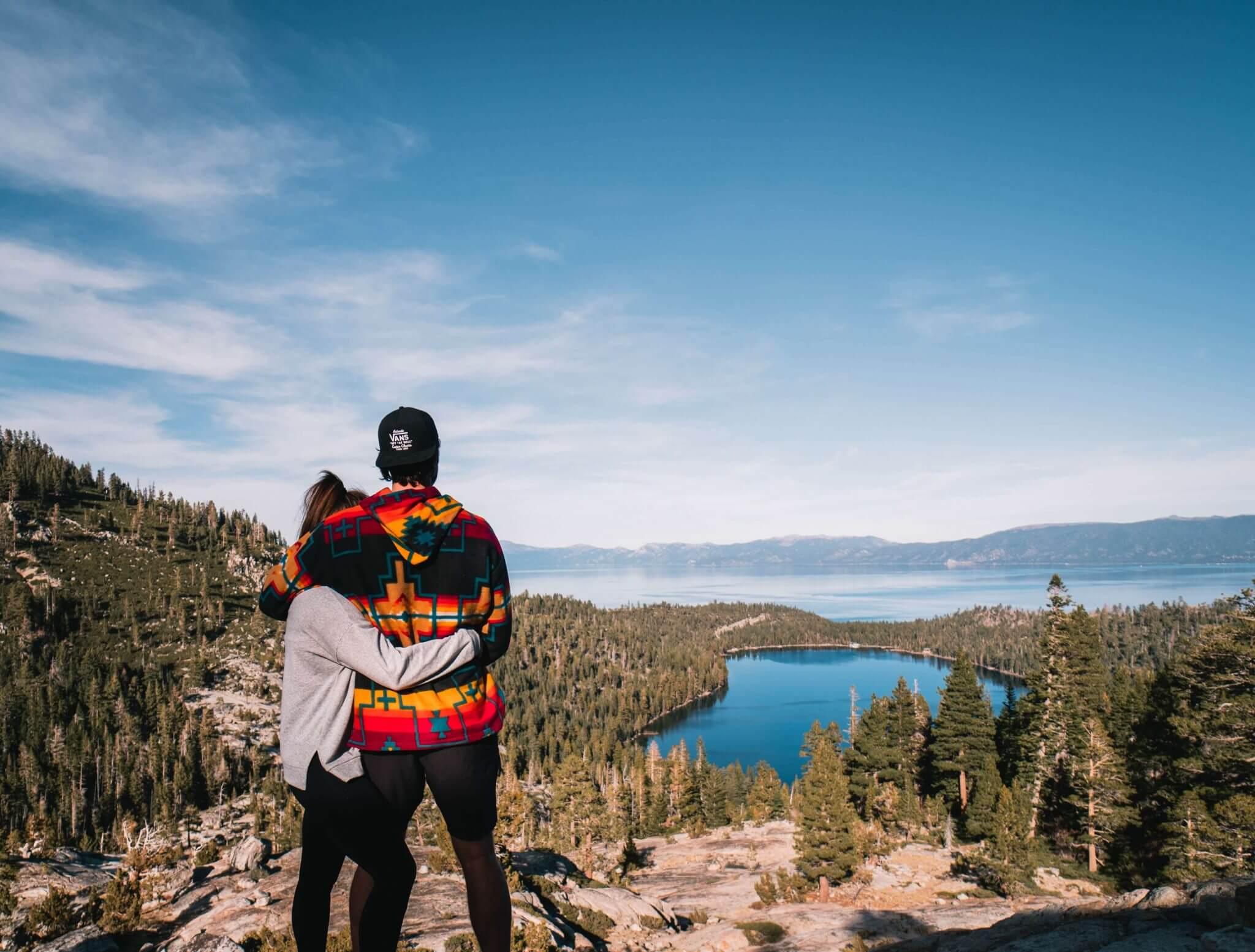 Romantic getaways in Northern California for couples weekend-Lake Tahoe