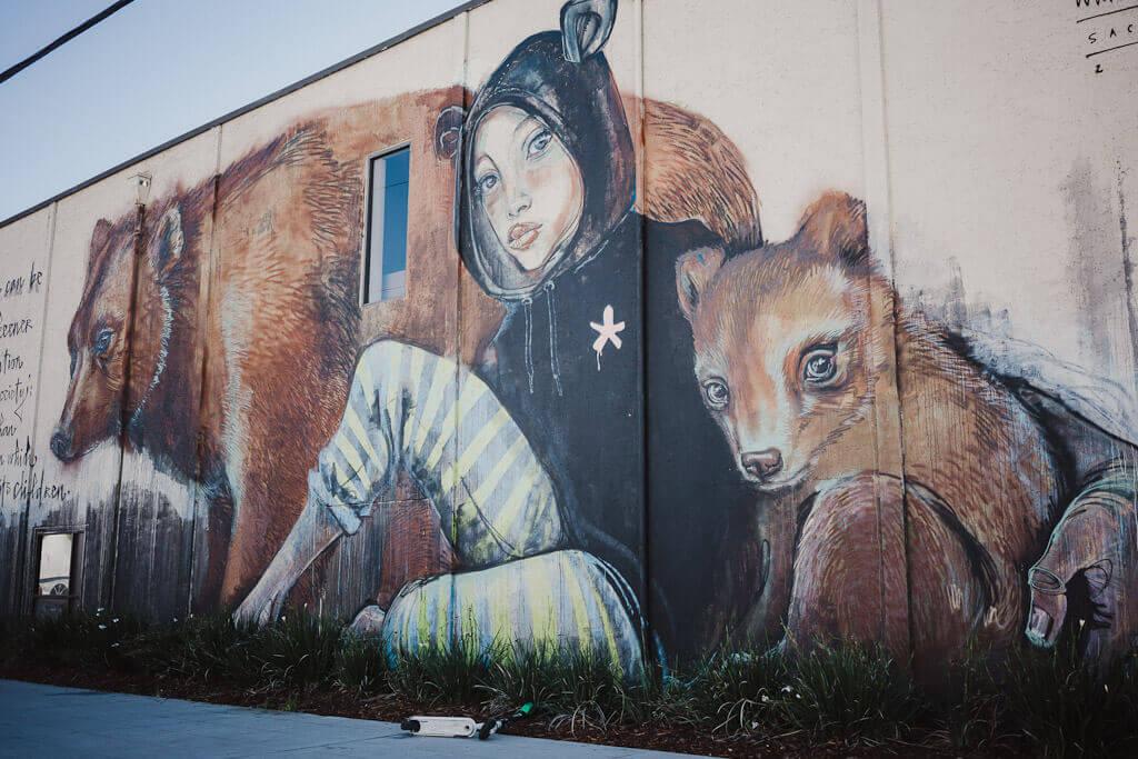 Sacramento Mural by Herakut, Wide Open Walls