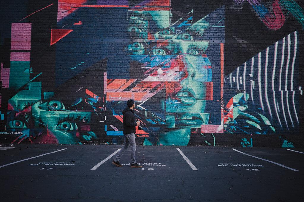 Sacramento wide open walls: John Horton