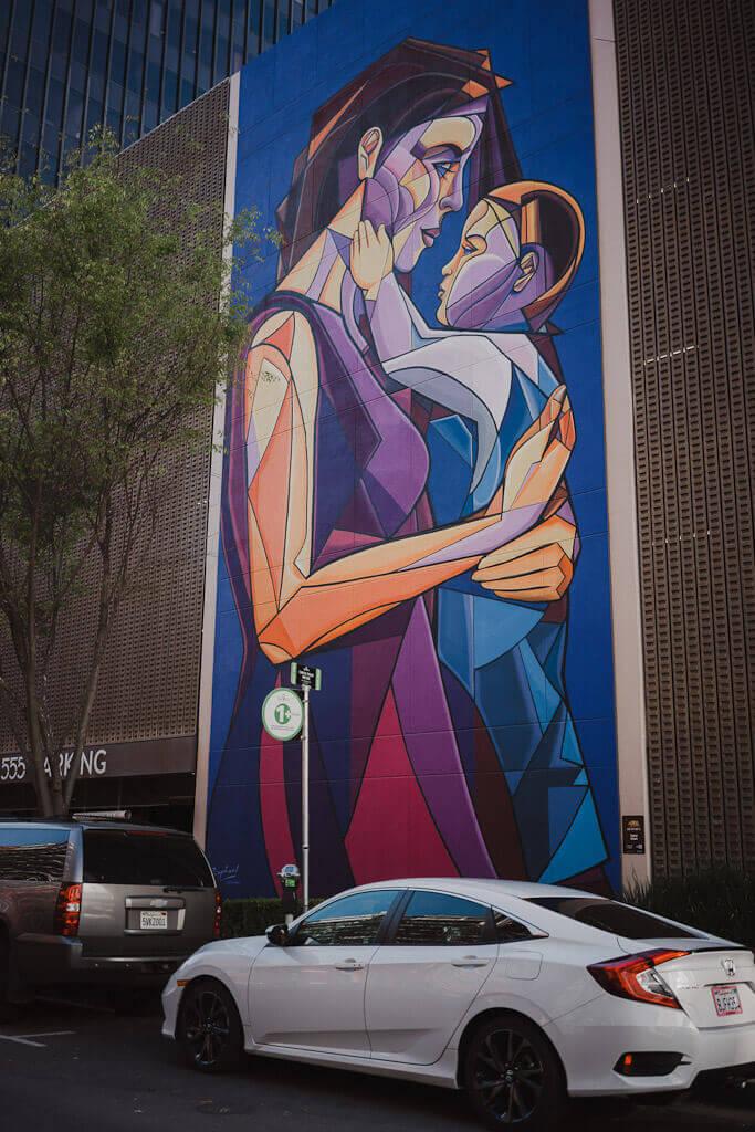 Raphael Delgado mural in Sacramento via Wide Open Walls