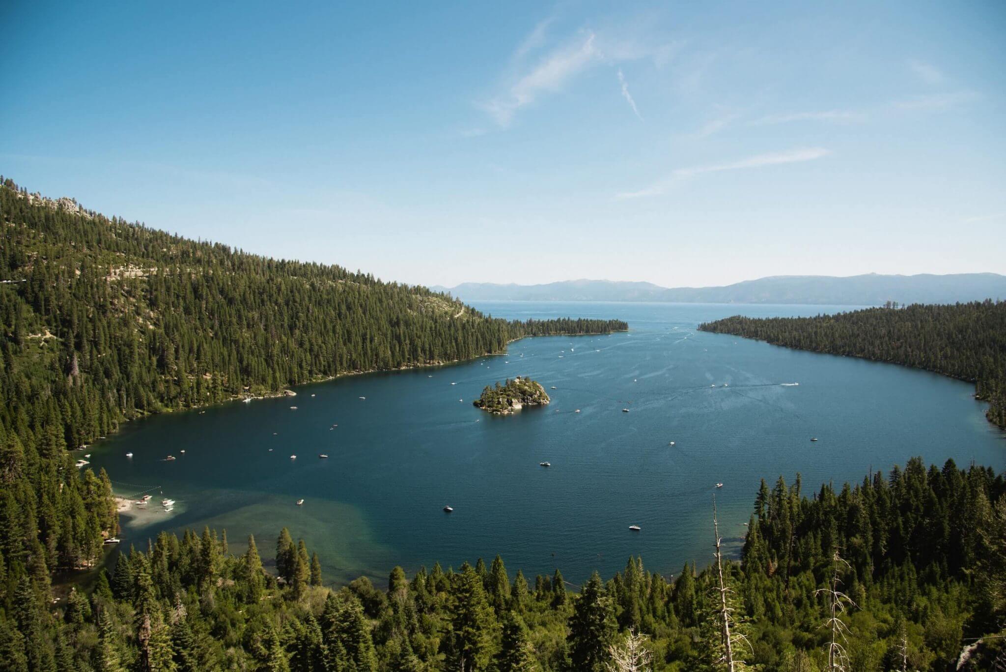 Lake Tahoe getaway from Sacramento as a day trip