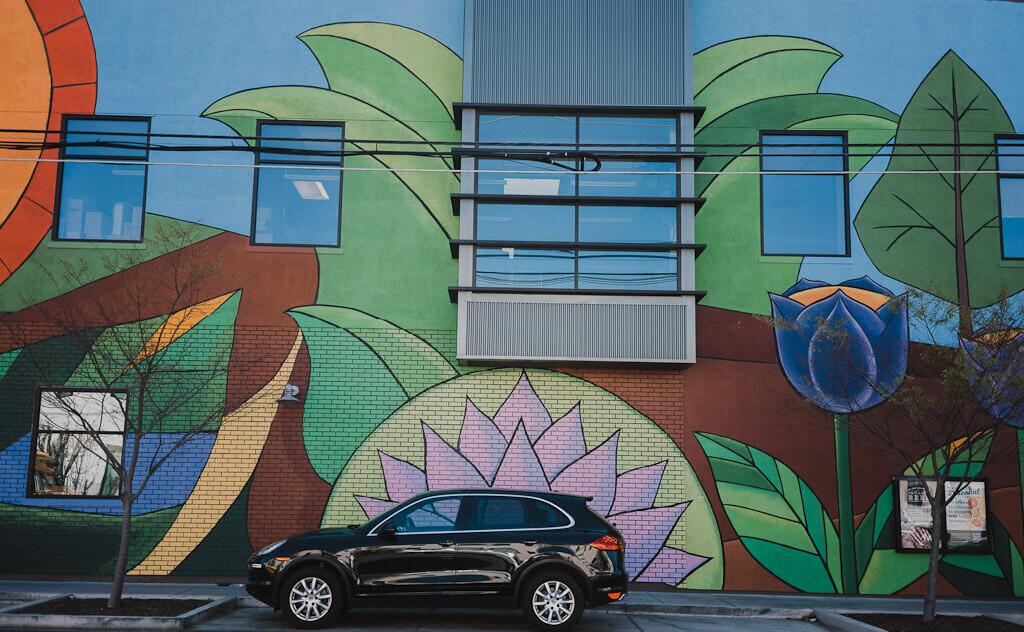 Raphael Delgado mural in Sacramento