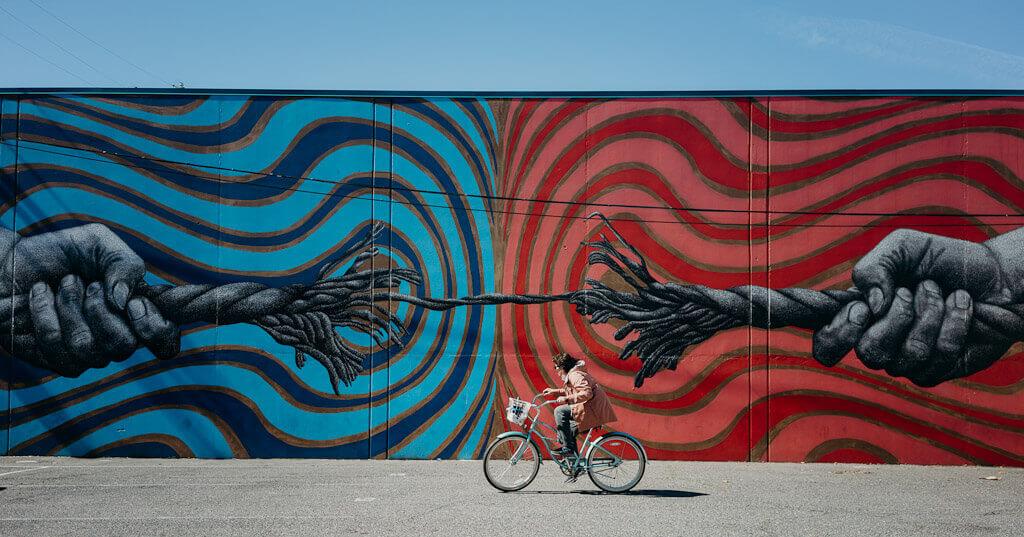 Bryan Valenzuela Kumbaya Moment mural