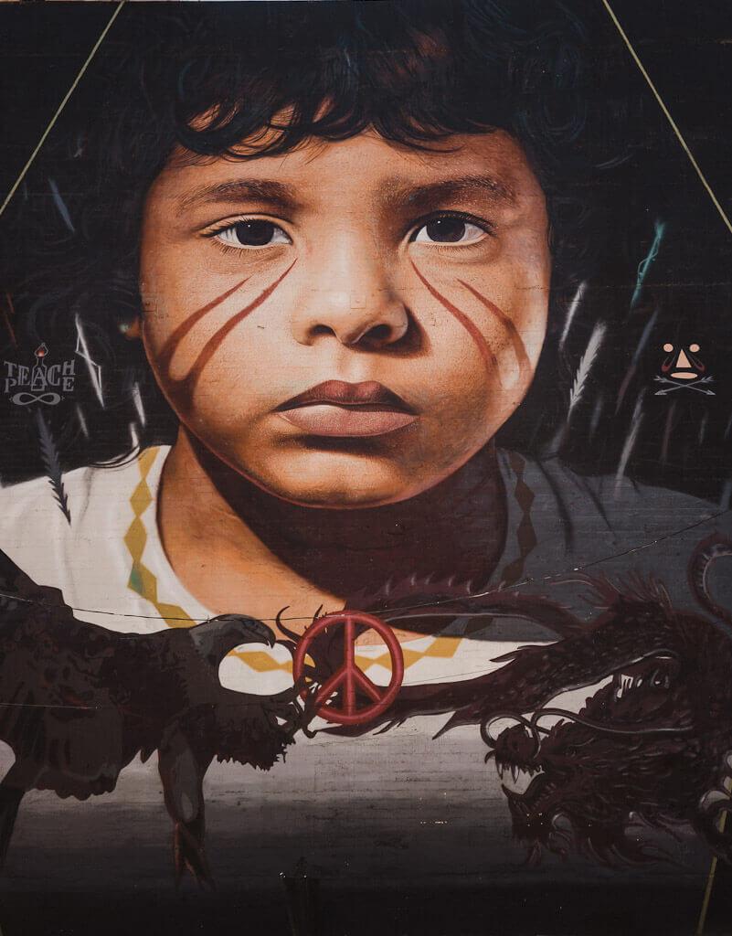 Wide open walls mural by Jorit Agoch