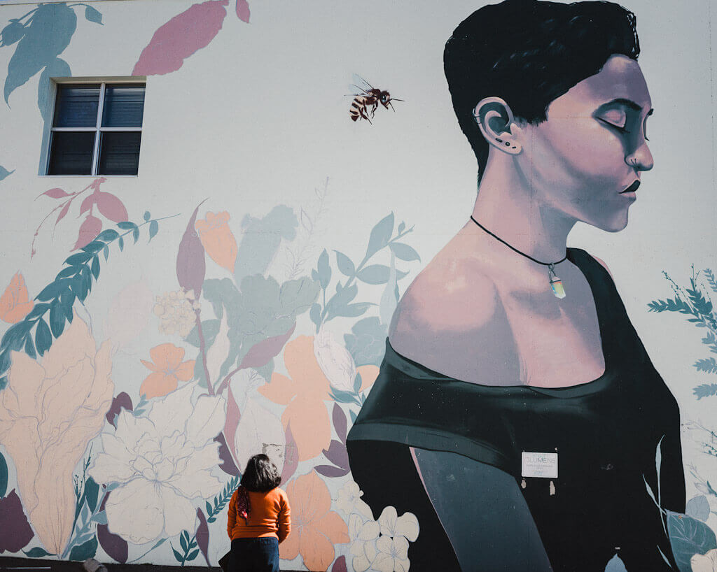 A self guided tour of the best murals and street art in Sacramento with a murals map