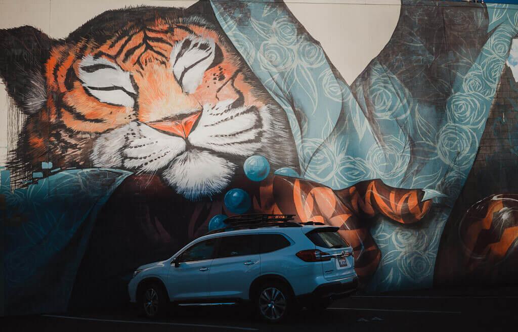 Nosego Mural in Sacramento