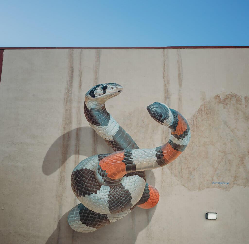 Sacramento street art by John Pugh