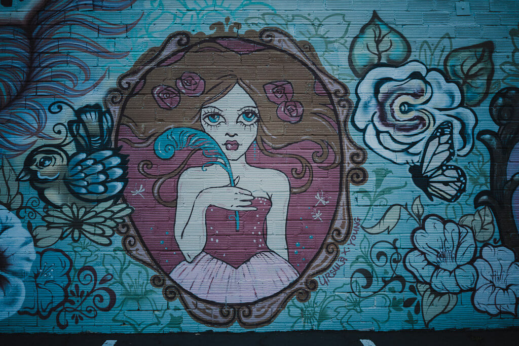 Ursula Young Mural