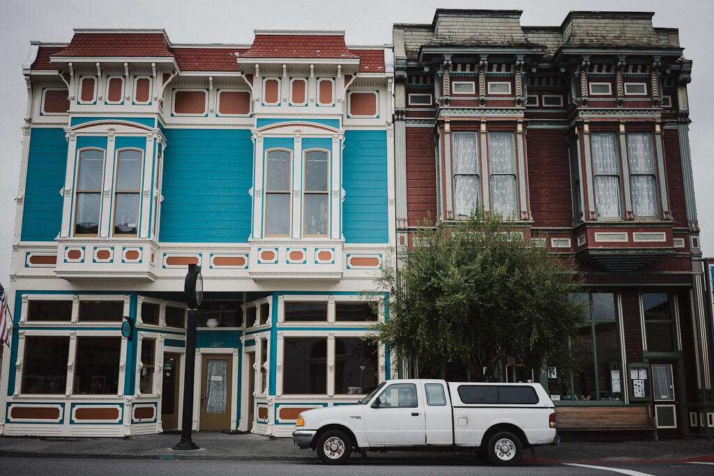 Victorian Houses in Ferndale, Humboldt County