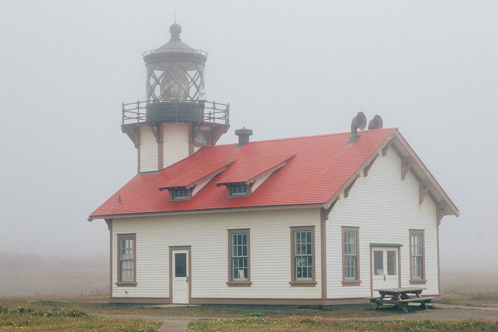 Point Cabrillo Lighthouse, Mendocino