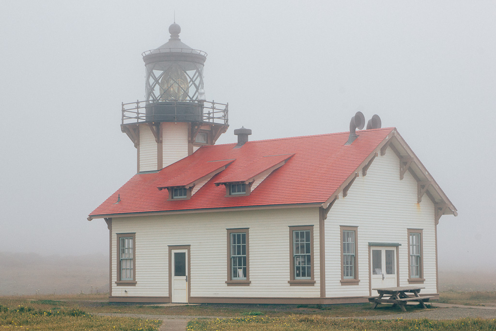 Point Cabrillo Lighthouse, Mendocino