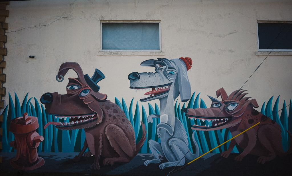 Street art in Eureka