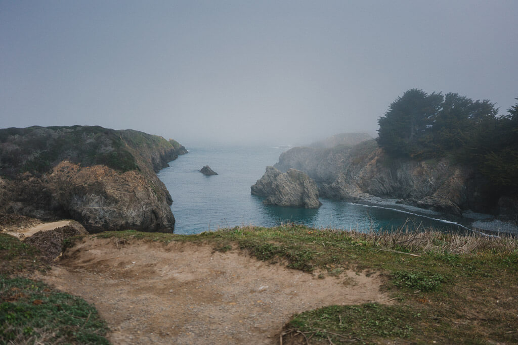 Point Mendocino trail, Mendocino