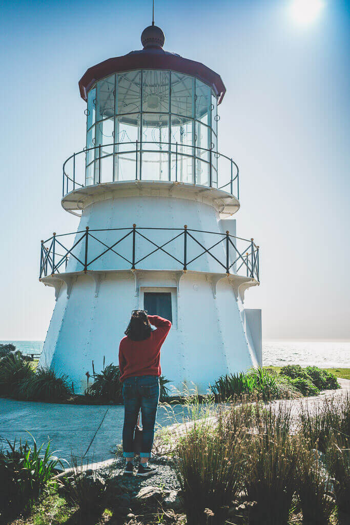Cape Mendocino lighthouse at Shelter cove