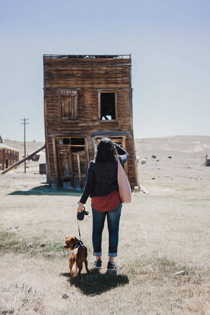 Self guided tour of Bodie State Park in California