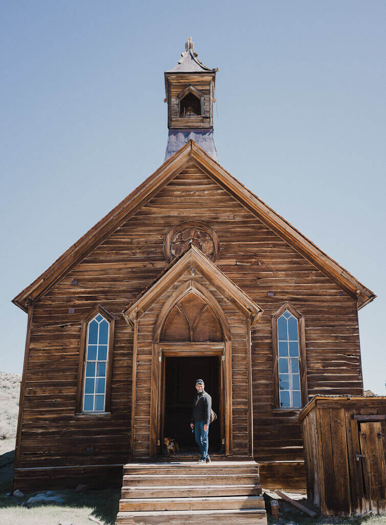 Self guided tour of Bodie ghost town