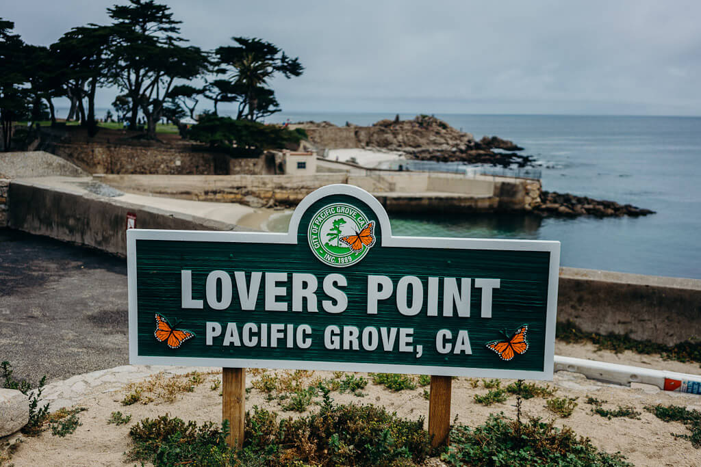 Lovers Point State Park, Pacific Grove, California central coast