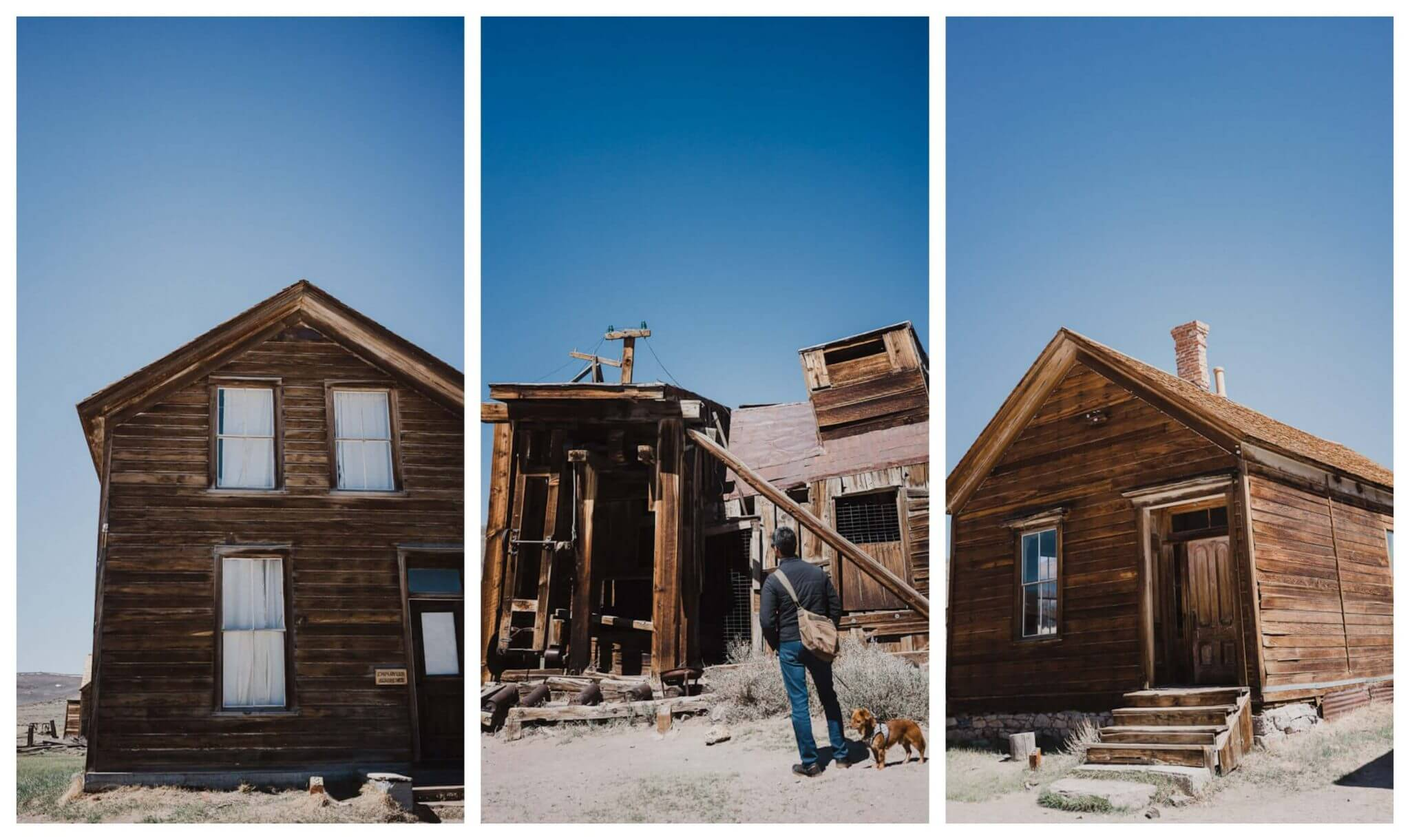 Self guided tour of Bodie ghost town in Mono County
