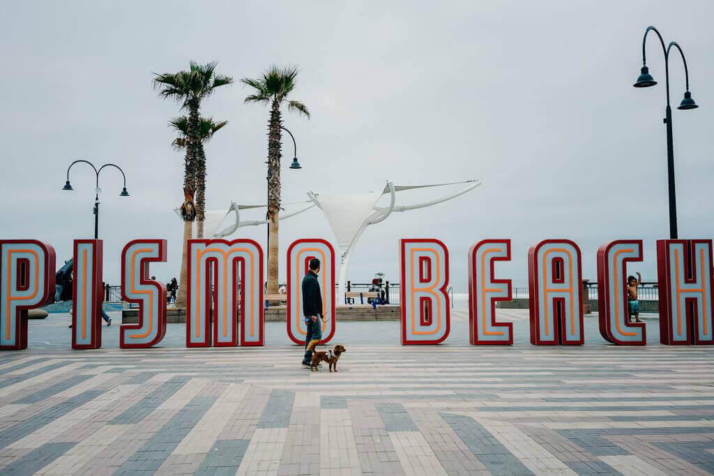 Pismo Beach Plaza is dog friendly