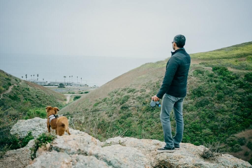 Dog friendly hiking at Pismo preserve