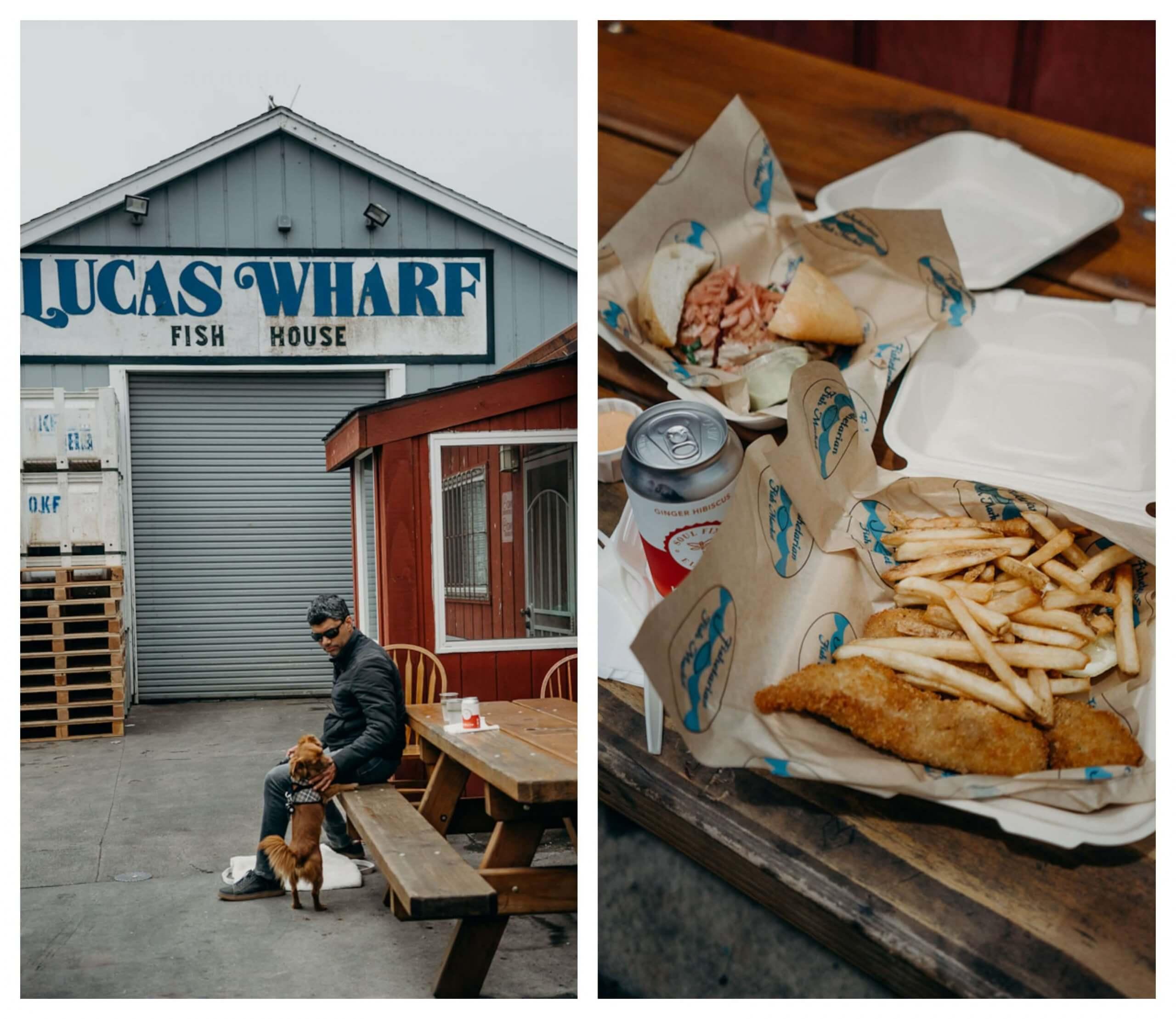 Restaurants in Bodega Bay, Fishetarian Fish Market
