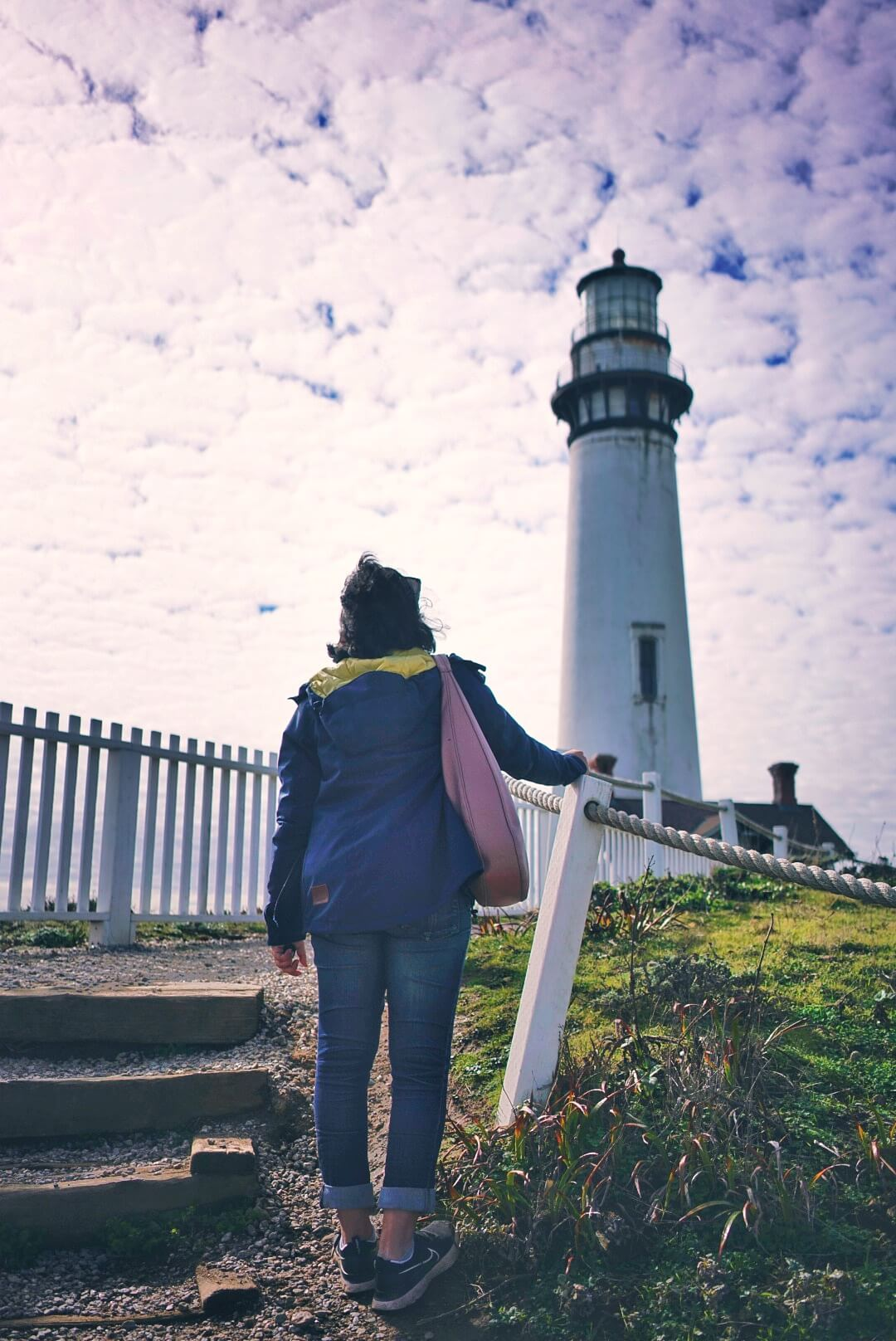 Pigeon Point Lighthouse at Pescadero is one of the best stops on a California road trip from San Francisco to Carmel