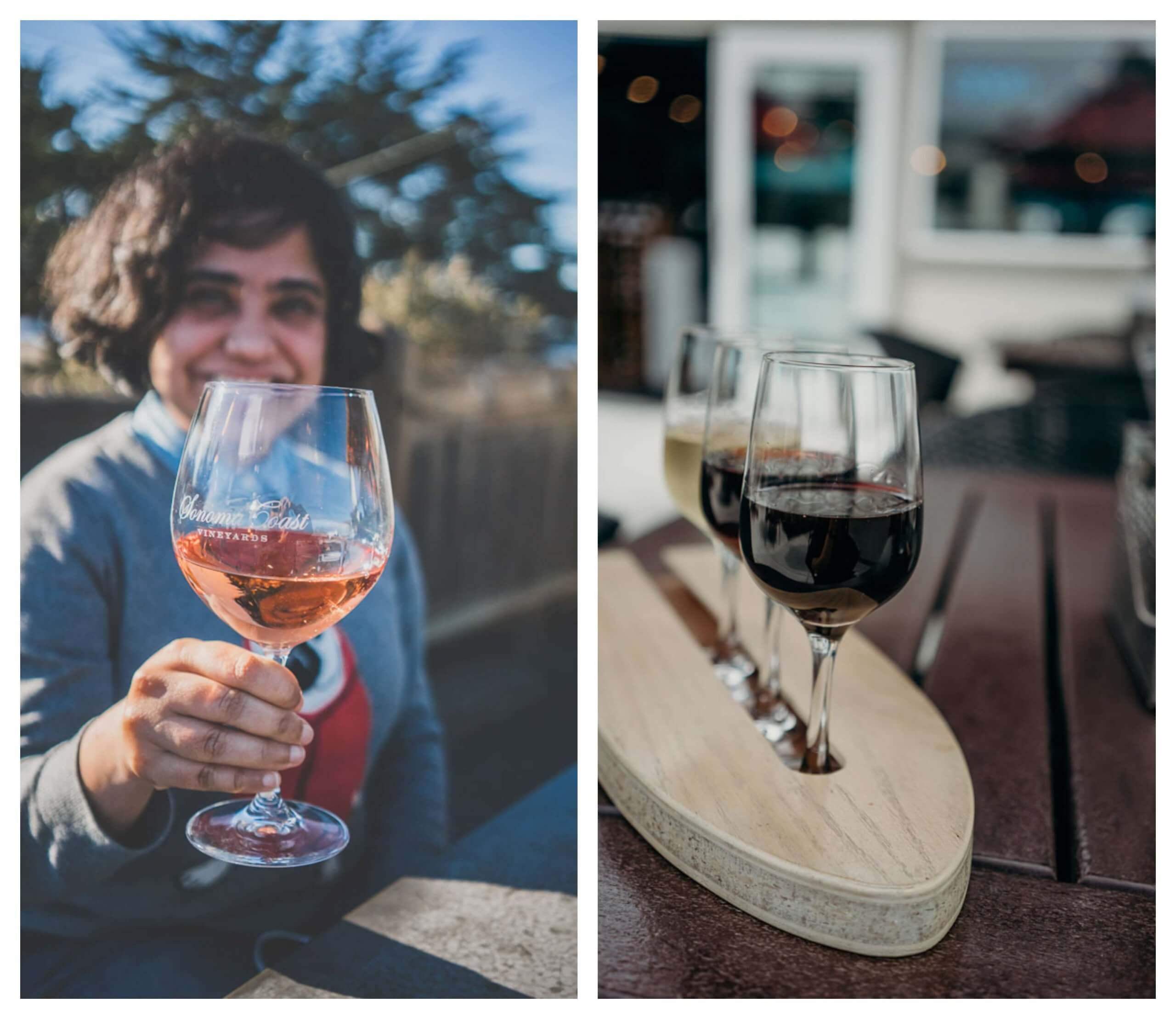 Wineries and wine tasting in Bodega Bay