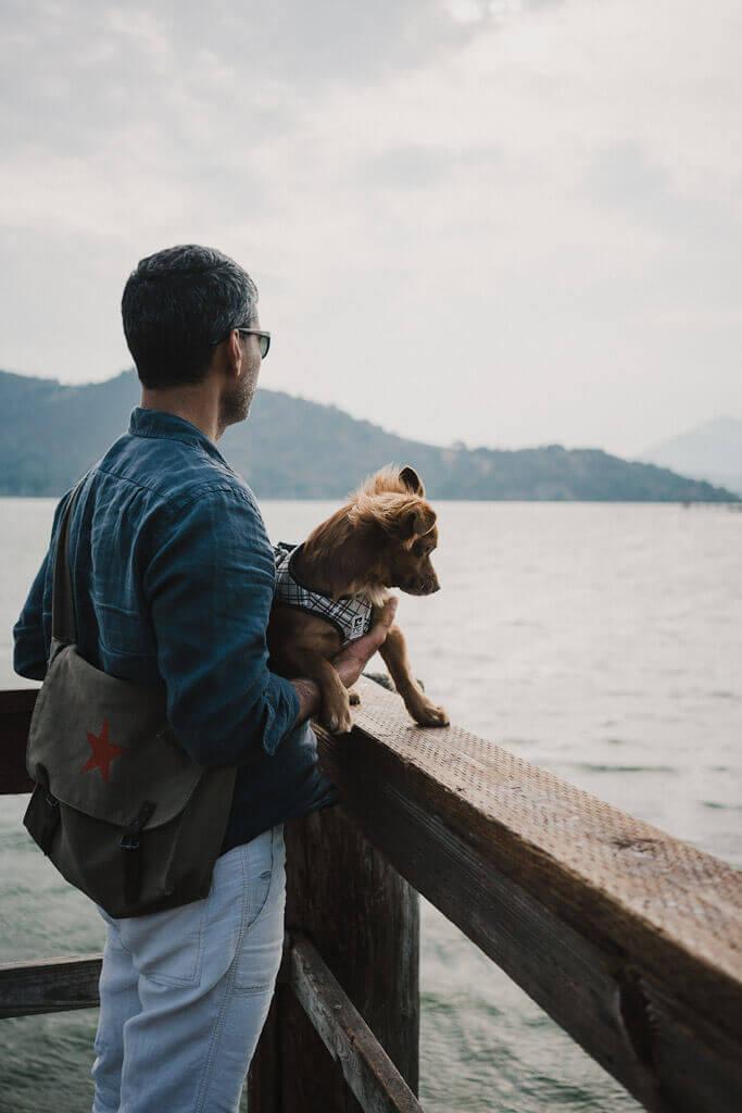 Dog friendly Redbud Park in Clear Lake