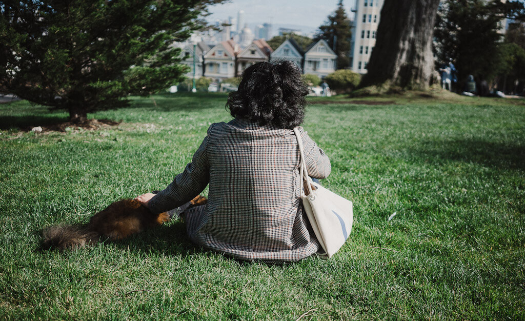Alamo Square Dog Park is one of the best parks for dogs in San Francisco