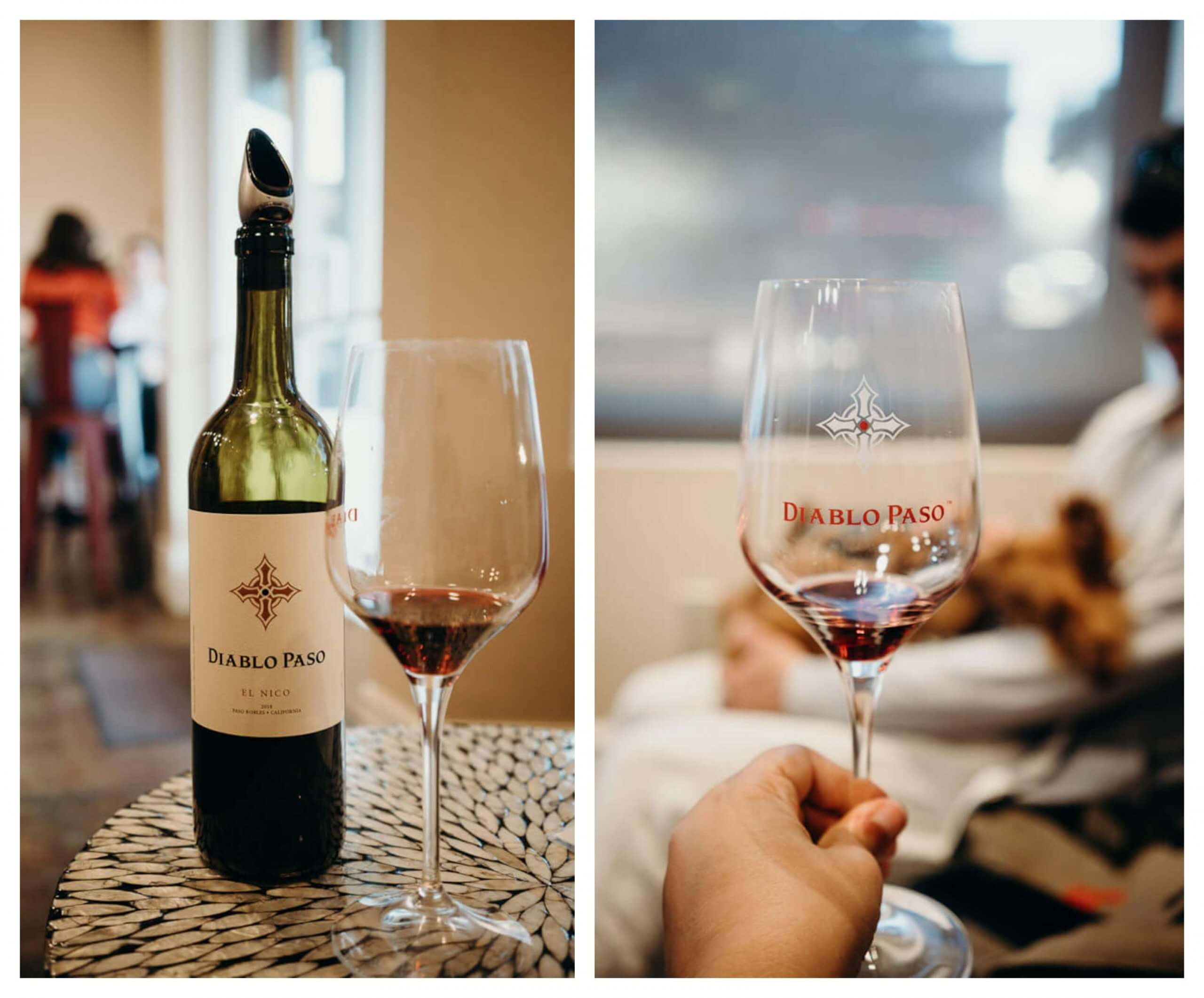 Diablo Paso is a dog friendly wine tasting room in downtown Paso Robles
